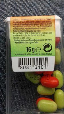 Tic Tac Citron Vert & Orange - Produto - fr