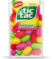 Bonbons tic tac edition limitee 4 goûts - Product - fr