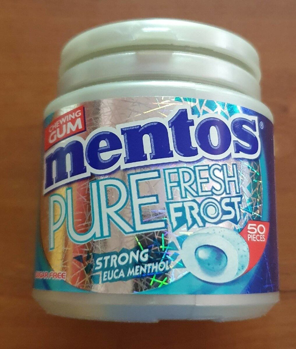 Mentos PURE Fresh Frost - Product - fr
