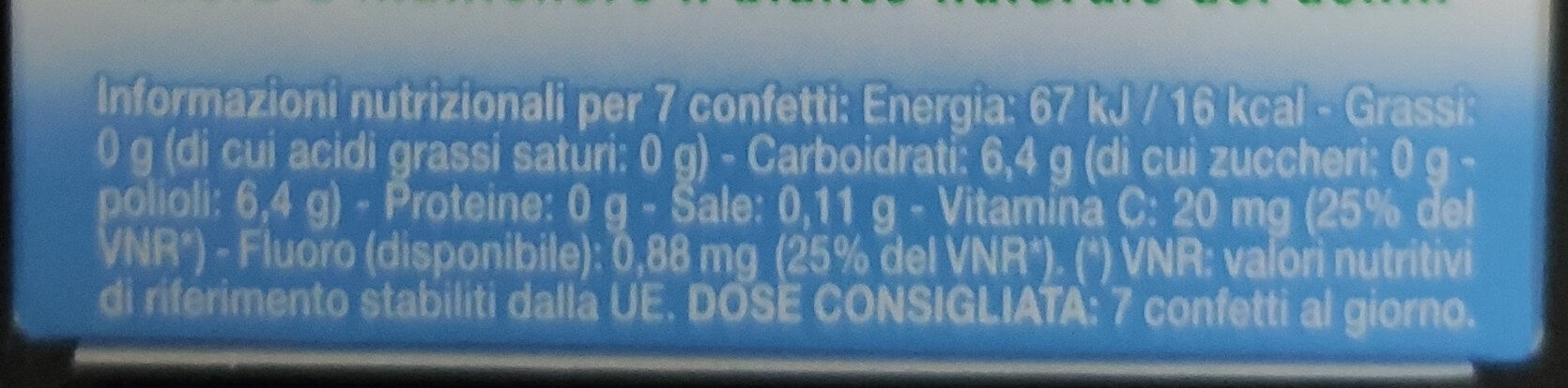 Daygum Complete - Nutrition facts - it