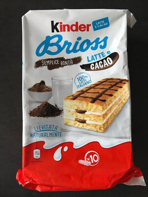 Kinder Brioss - Product - fr