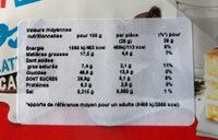 Kinder Brioss - Nutrition facts - fr
