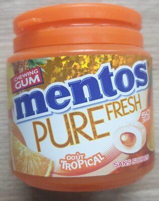 Mentos pure Mentos dans des mentos au pétrole - Produit - fr