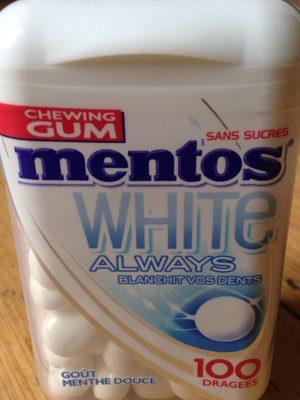 Mentos white always - 4