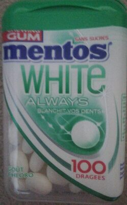 Mentos gum chloro - Product - fr