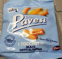 Gran Pavesi - i tocchetti mais cotti al forno - Product - en