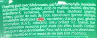 MENTOS ICE CUP - Ingrédients - fr