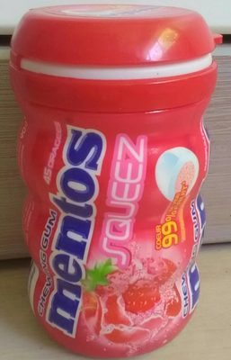 Chewing gum Mentos Squeez - Product - fr