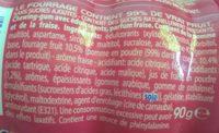 Chewing gum Mentos Squeez - Ingredients - fr