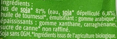 Soja du Sud-Ouest Spécial Cuisine - Ingredienti - fr