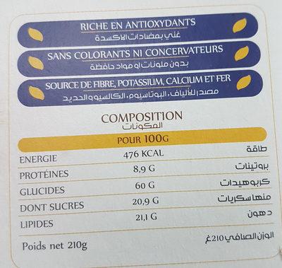 qaada - المكونات - fr