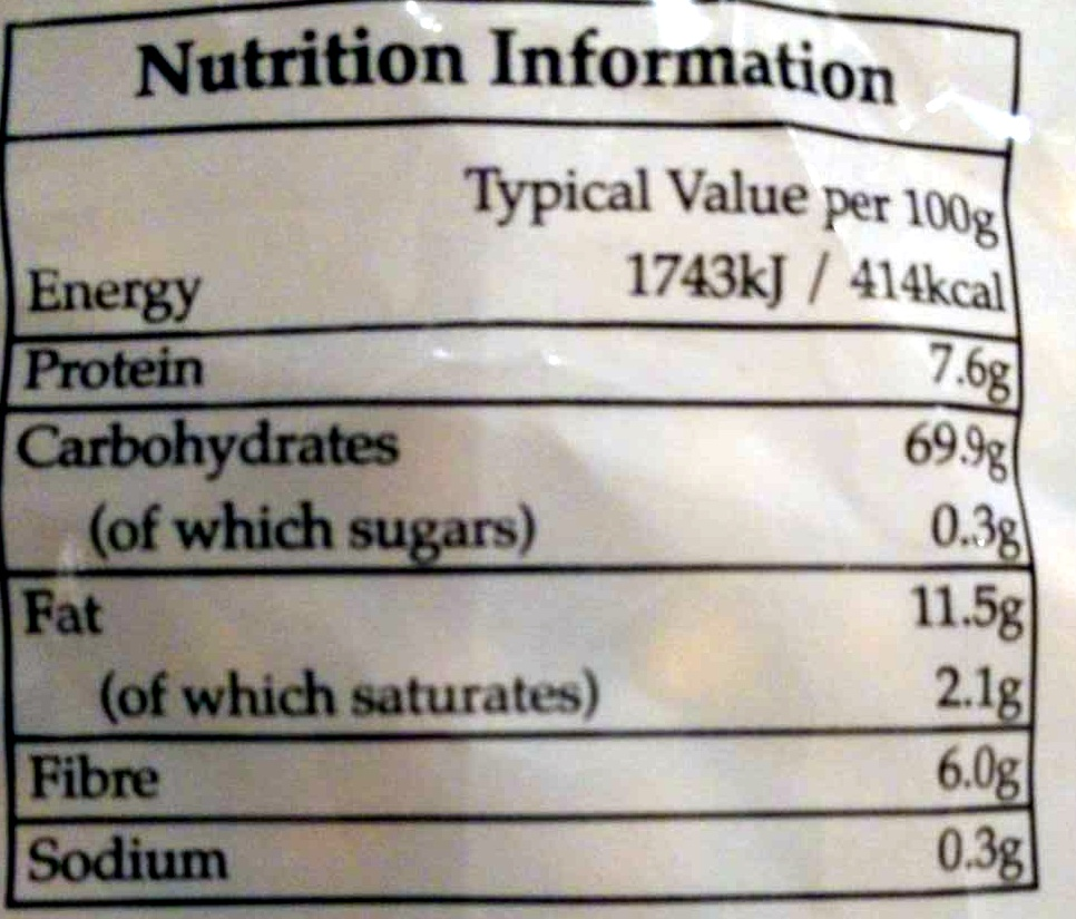 Crunchy Corn Treats - Nutrition facts - en