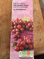 Red grape juice - Produit - en