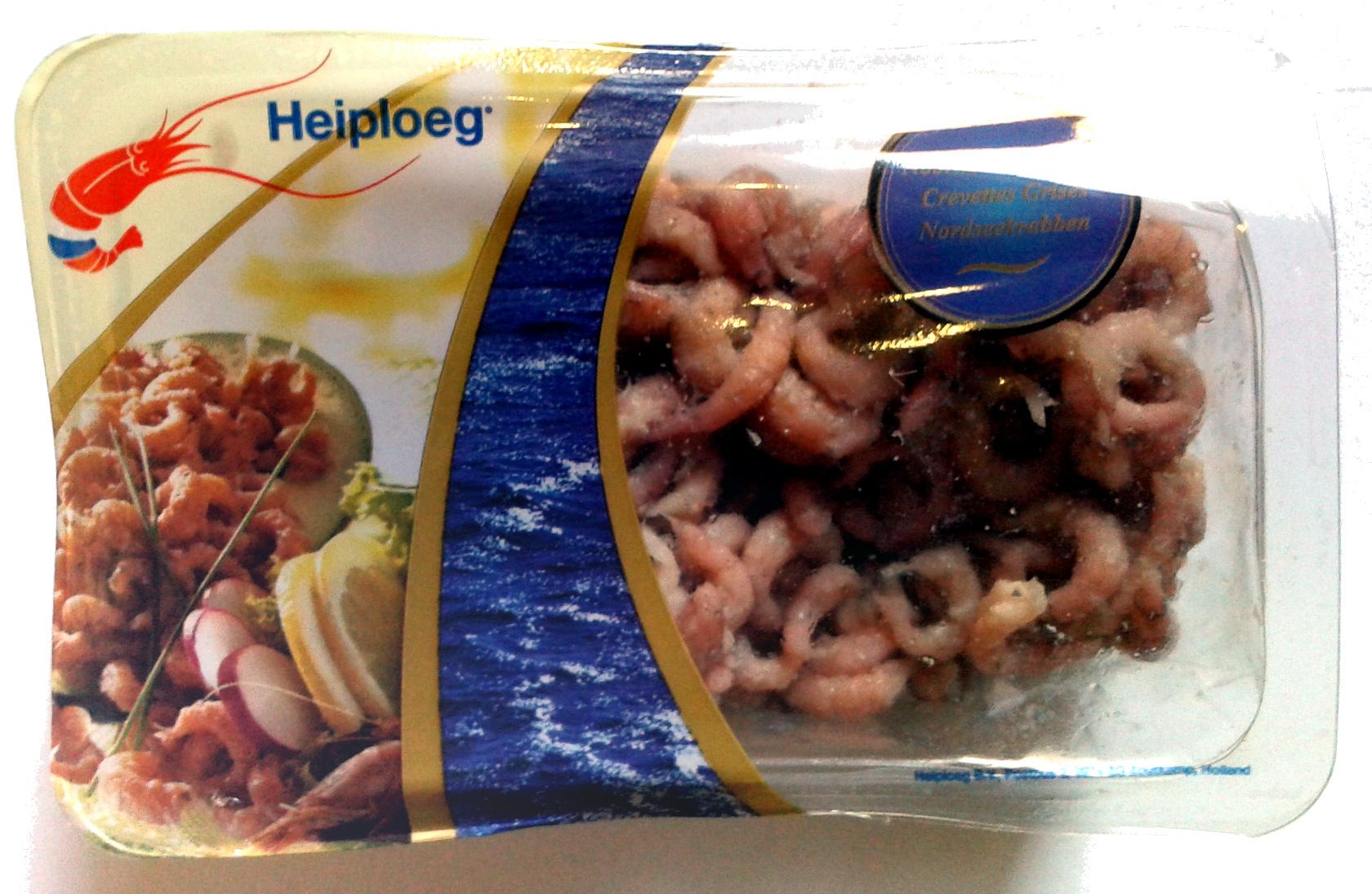 Crevettes grises cuites et décortiquées - Product - fr