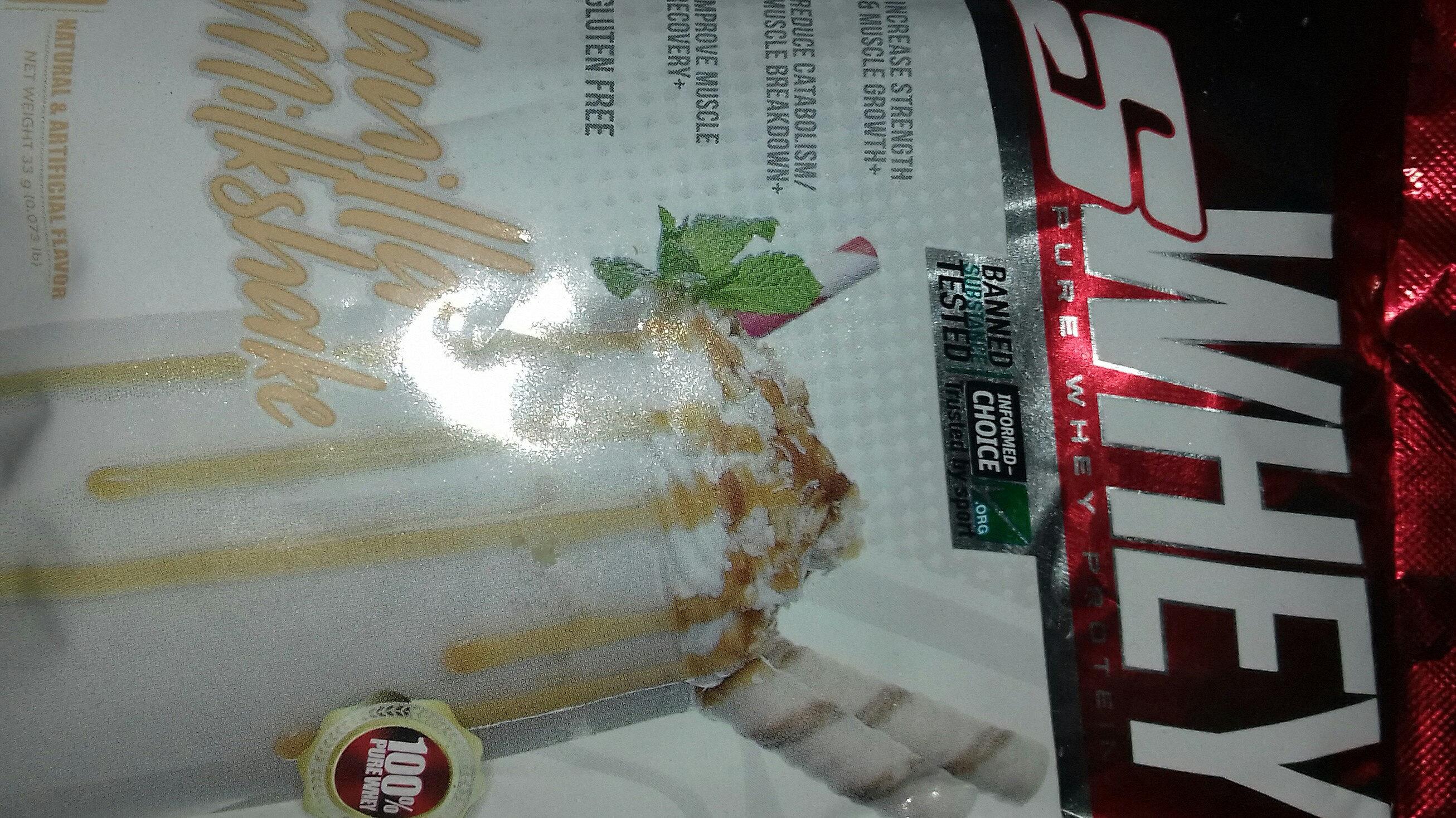 vanilla milkshake - Prodotto - en