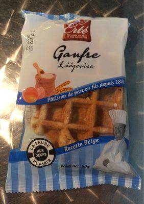 Gaufre Liégeoise - Product