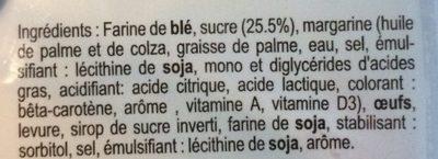 Gaufre Liégeoise - Ingrediënten