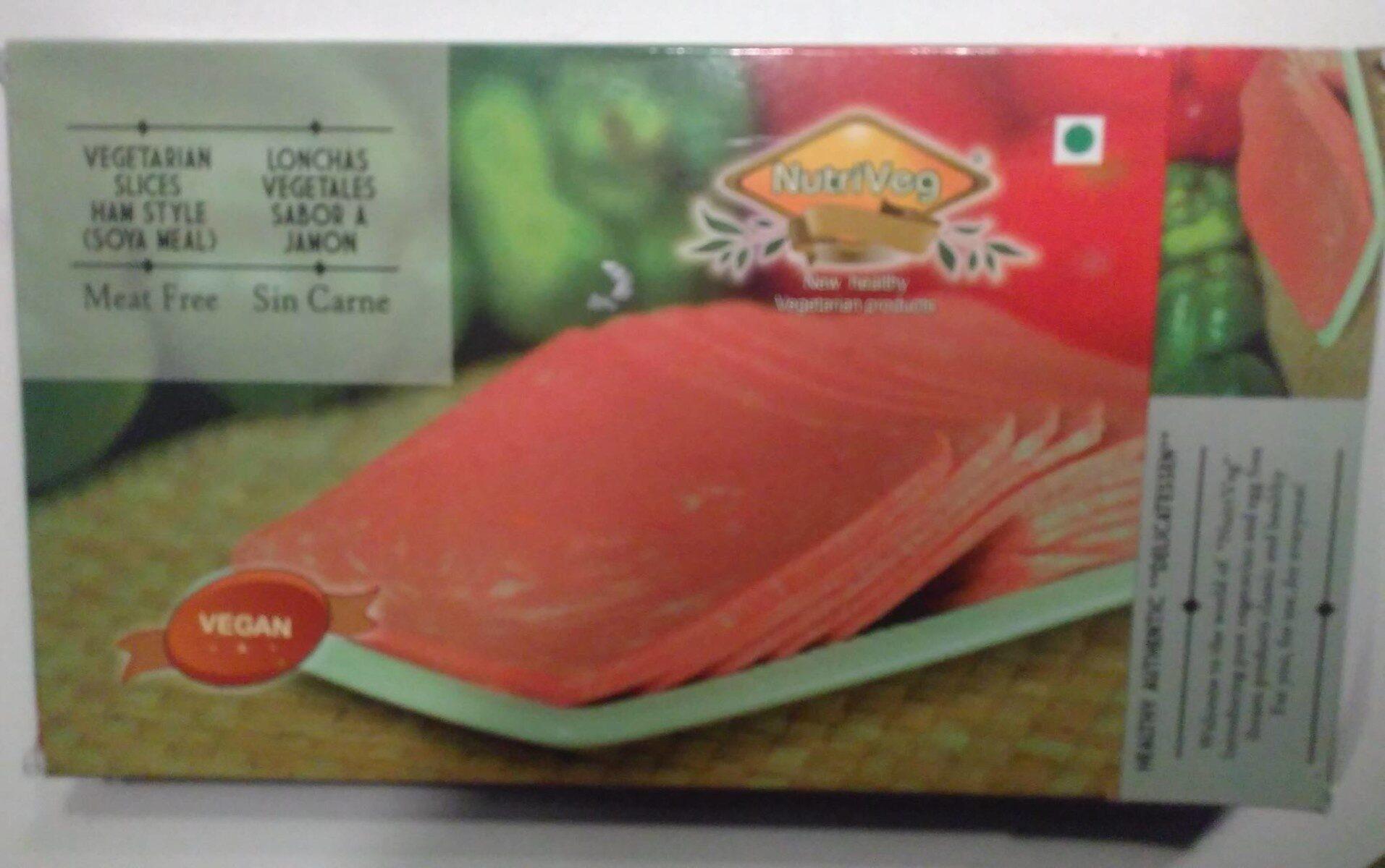 Lonchas vegetales sabor a Jamón - Product