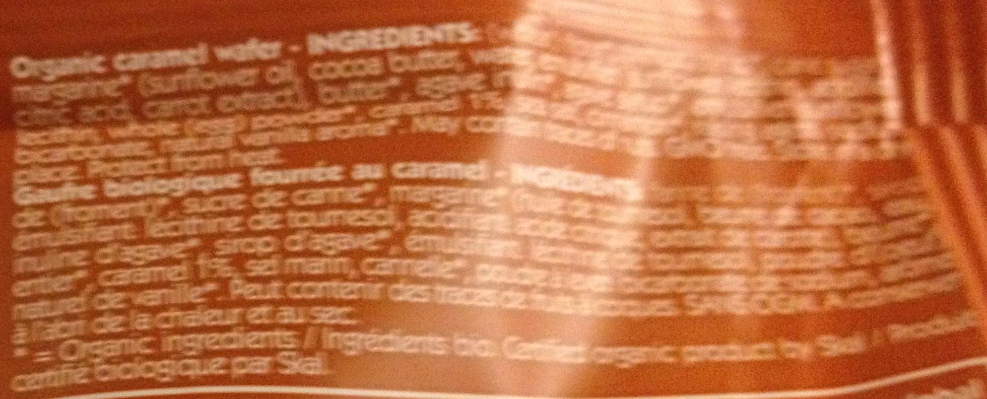 gaufre caramel - Ingrediënten