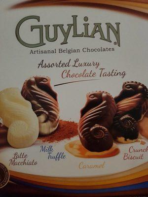 Assorted luxury chocolate tasting - Product