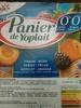 Panier de Yoplait (Fraise, mûre, cerise, pêche, abricot, ananas) - Product