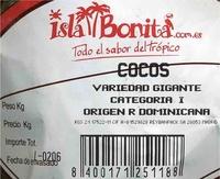 Coco - Ingredientes