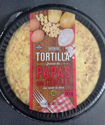 Tortilla fresca de papas con cebolla - Prodotto - es