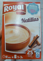 Natillas caseras - Produit