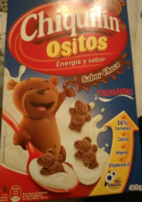 Chiquilin ositos sabor choco - Producto