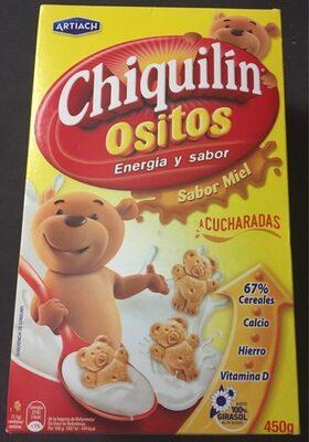 Chiquilin Biscuits aux céréales parfum miel - Producto - fr