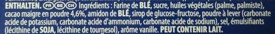 Original - Ingrédients - fr