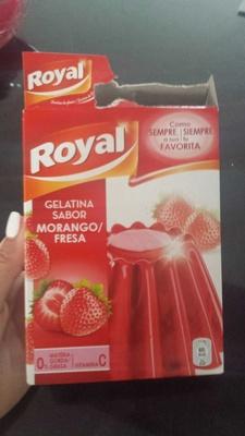 Gelatina fresa - Producte