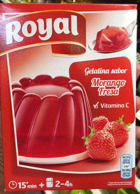Gelatina fresa - Produkt - es