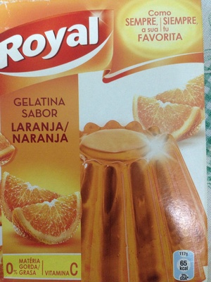 Gelatina Sabor Naranja - Producte