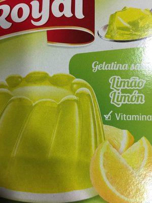 Gelatina Royal Limón - Producte