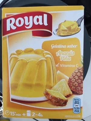 Gélatine saveur Ananas - Producte