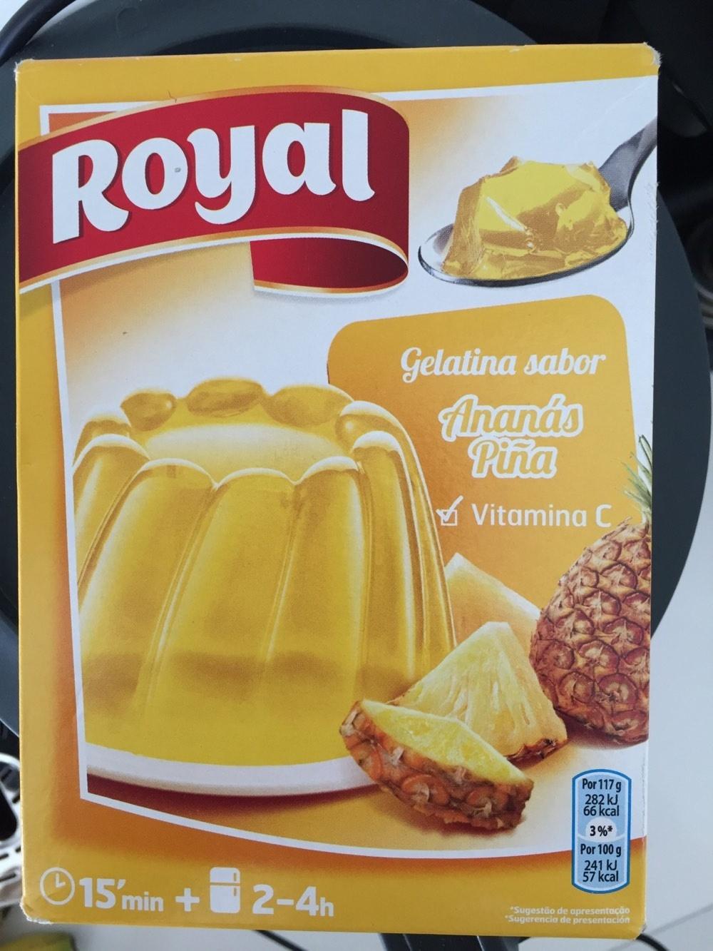 Gélatine saveur Ananas - Product