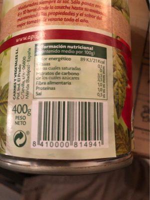 Tomate 100% natural triturado - Produit