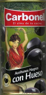 """Aceitunas negras enteras variedad """"cacereña"""" - 3"""