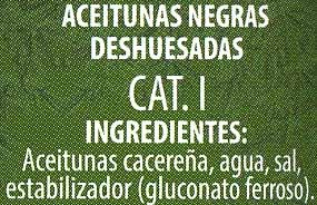 """Aceitunas negras deshuesadas variedad """"cacereña"""" - 3"""