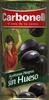 """Aceitunas negras deshuesadas variedad """"cacereña"""" - Producto"""