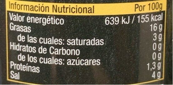 FARC.ANX.150 - Voedingswaarden - es