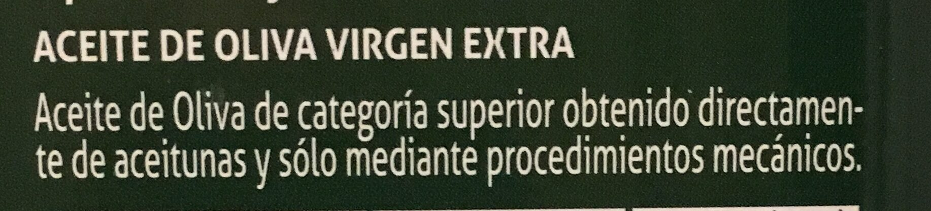 Aceite De Oliva Virgen Extra Carbonell Lata 5L - Ingrédients - fr