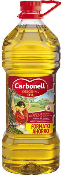 Aceite de oliva suave 0,4º bidón 3 l - Producto