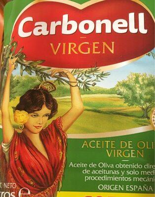 Aceite de oliva virgen - Produit