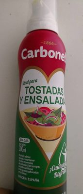 Olive Oil Extra Virgin - Salads & Pasta - By Carbonell