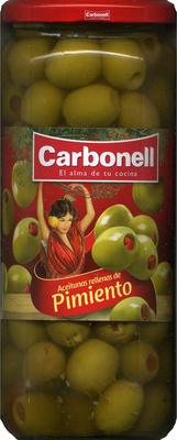 """Aceitunas verdes rellenas de pimiento """"Carbonell"""" - Product - es"""