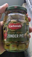 Groene olijven Zonder Pit - Product - nl