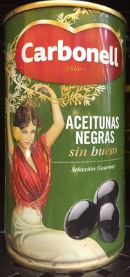 Aceitunas Negras sin hueso - Product