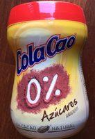 Cola Cao 0% Azúcares Añadidos - Producto